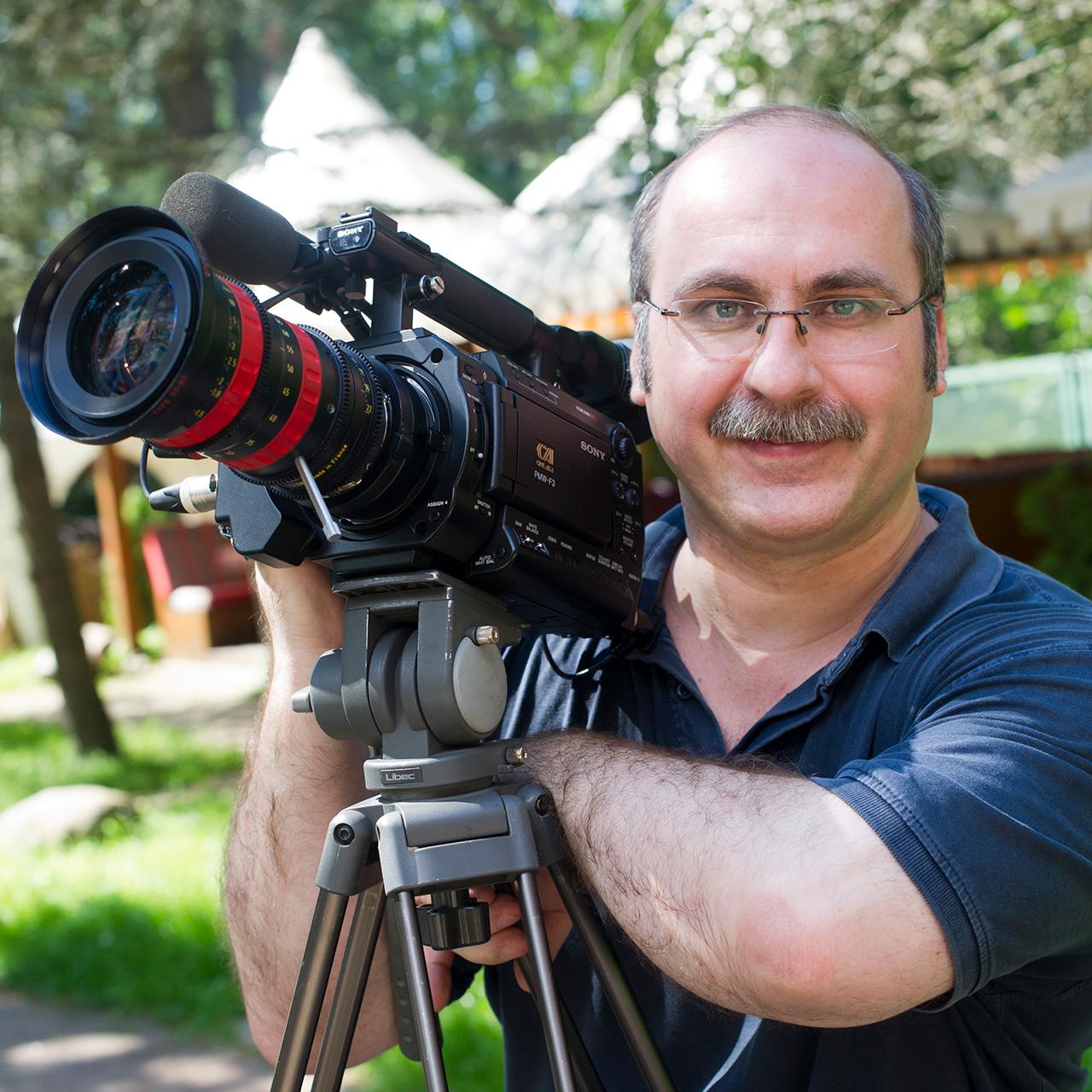 видеооператор Владимир Кольцов